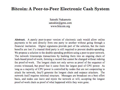 bitcoin cash satoshi vision