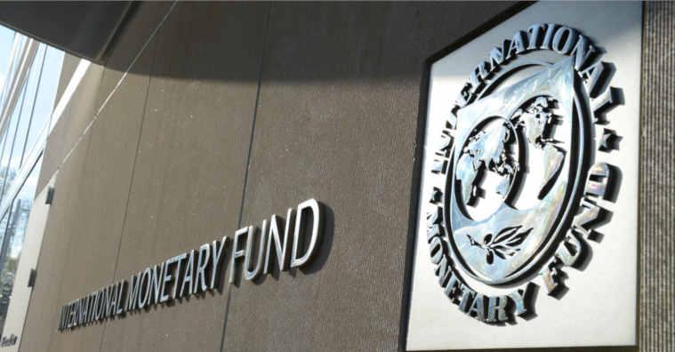 Fundo monetário internacional placa