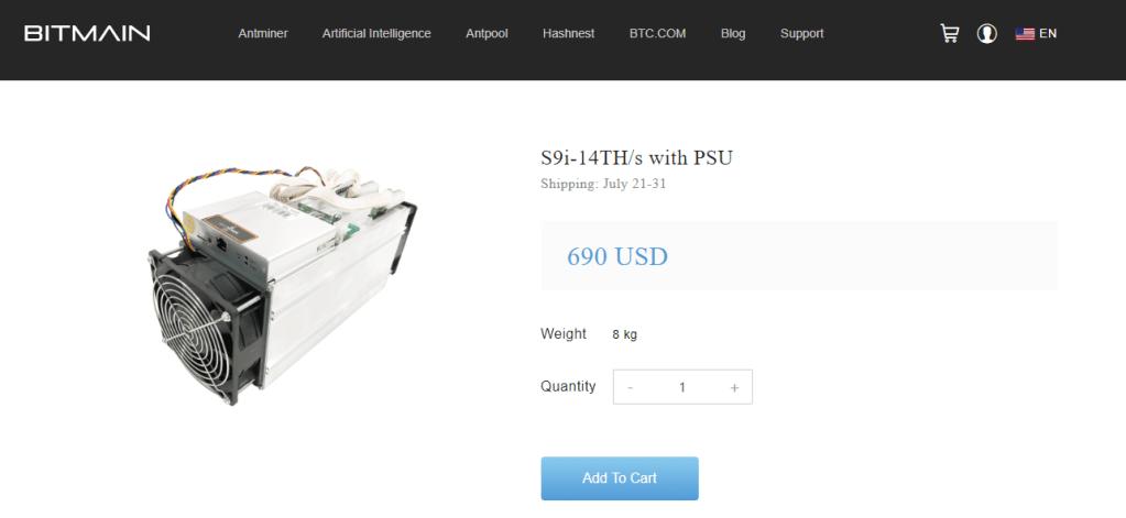 imagem mostrando a compra de uma mineradora de bitcoin