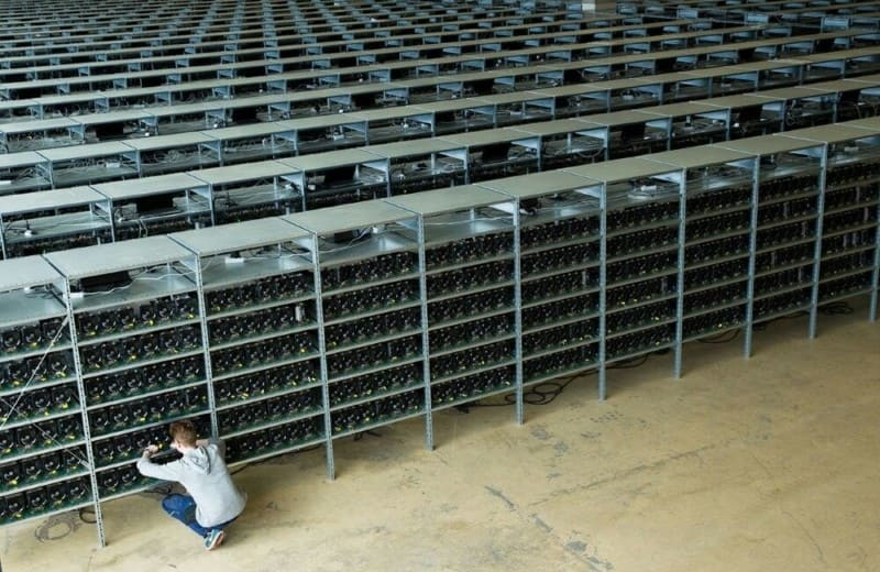 fazenda de mineração como minerar bitcoin