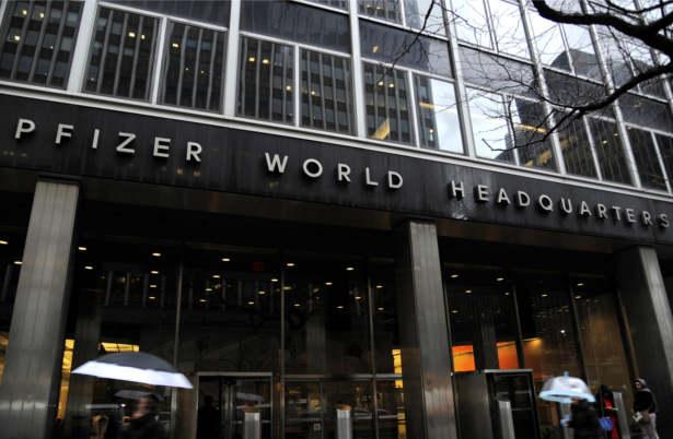 Pfizer HQ  blockchain
