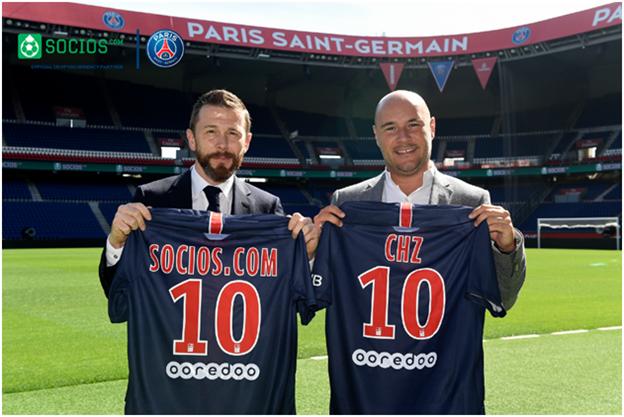parceria do paris saint germain