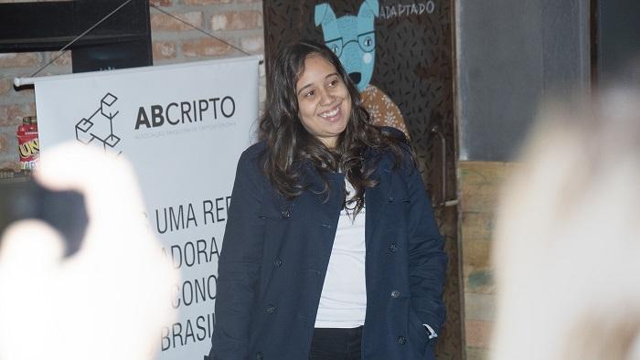 Natália Garcia, vice-presidente da ABCripto