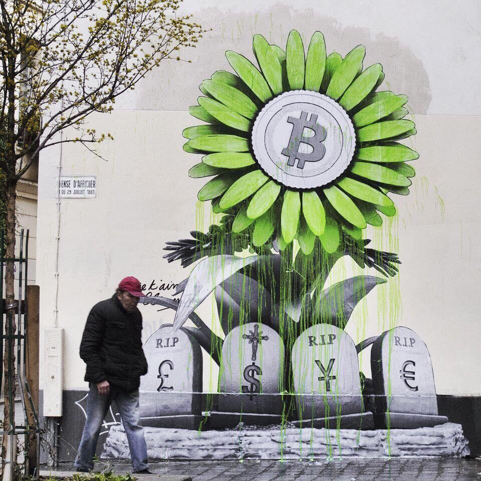Graffiti bitcoin
