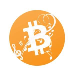 música com bitcoin
