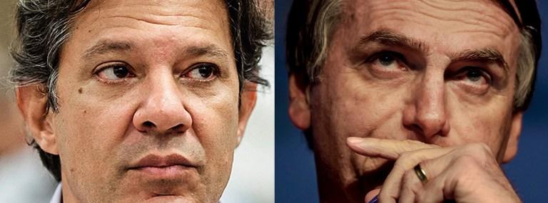Nem Bolsonaro e nem Haddad são capazes de salvar economia
