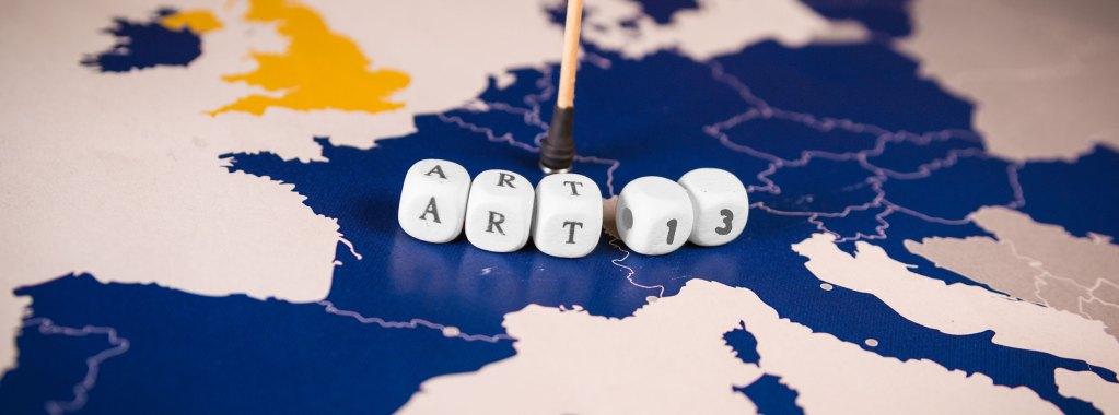 Artigo 11 e 13 da UE pode mudar a Internet como você conhece
