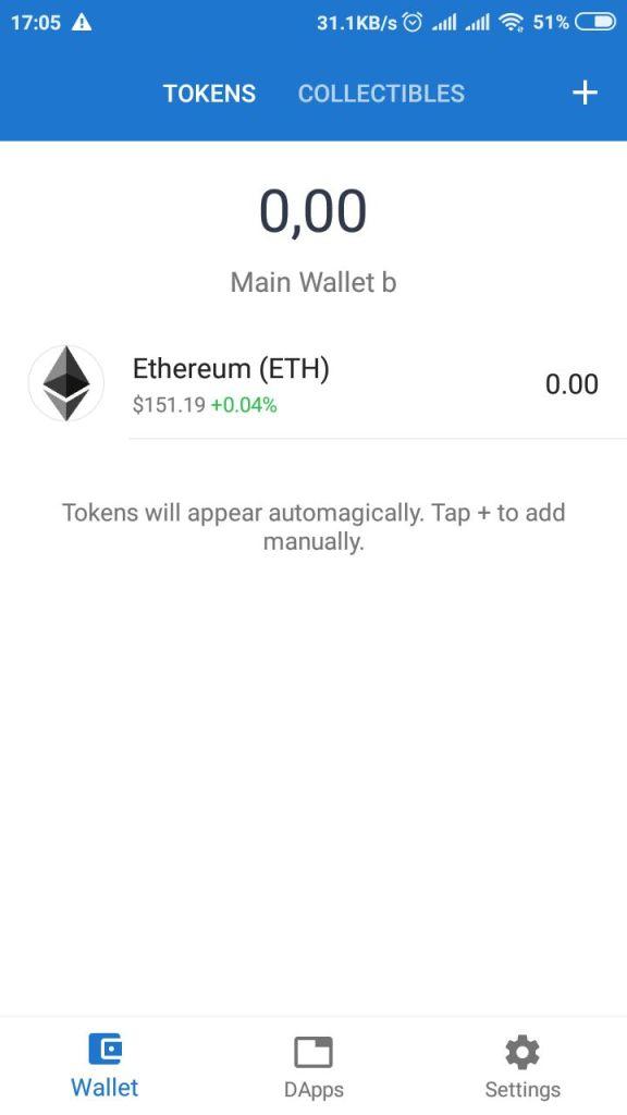 Carteira Trust Wallet Tron