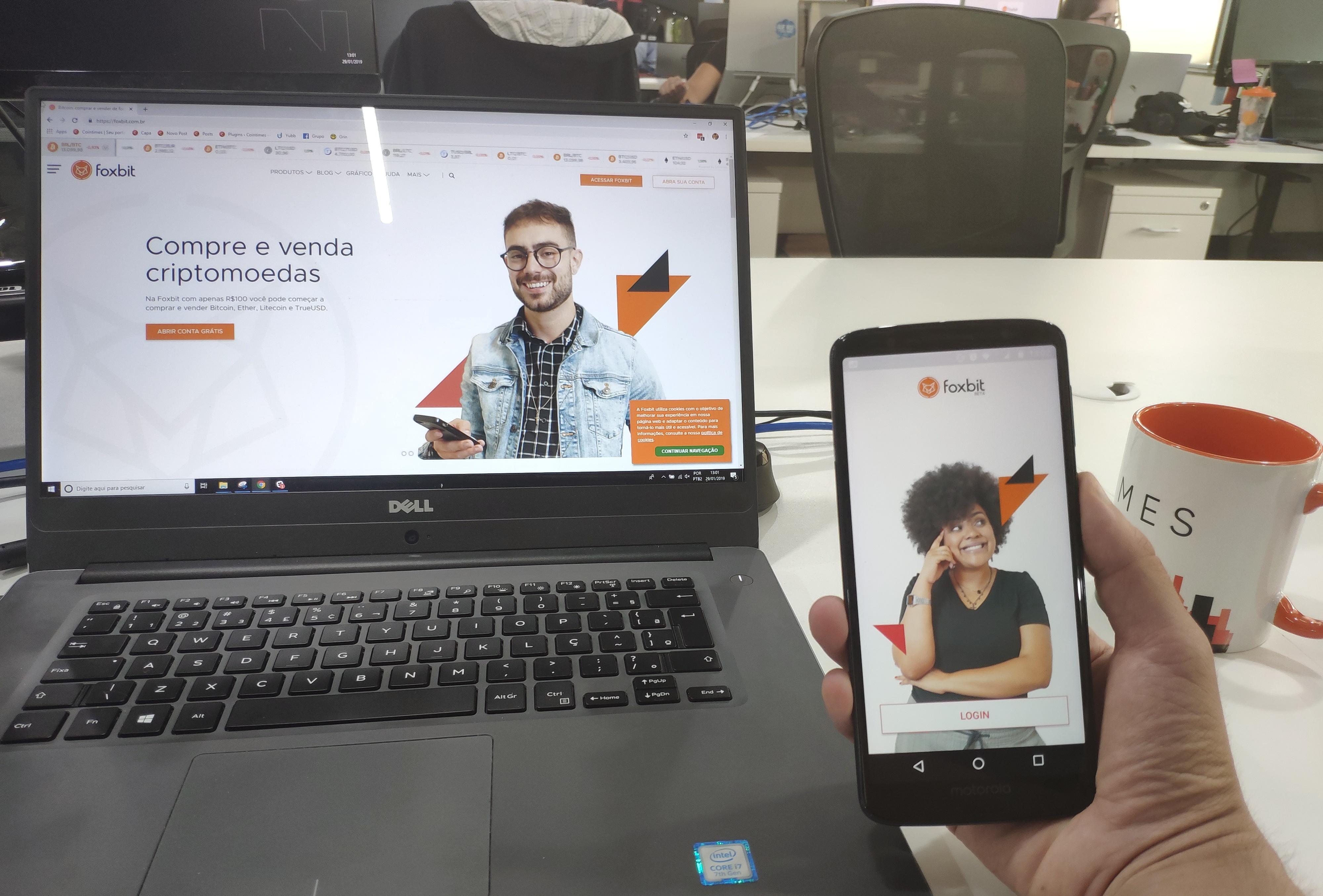 App da Foxbit é lançado para Android, veja o review