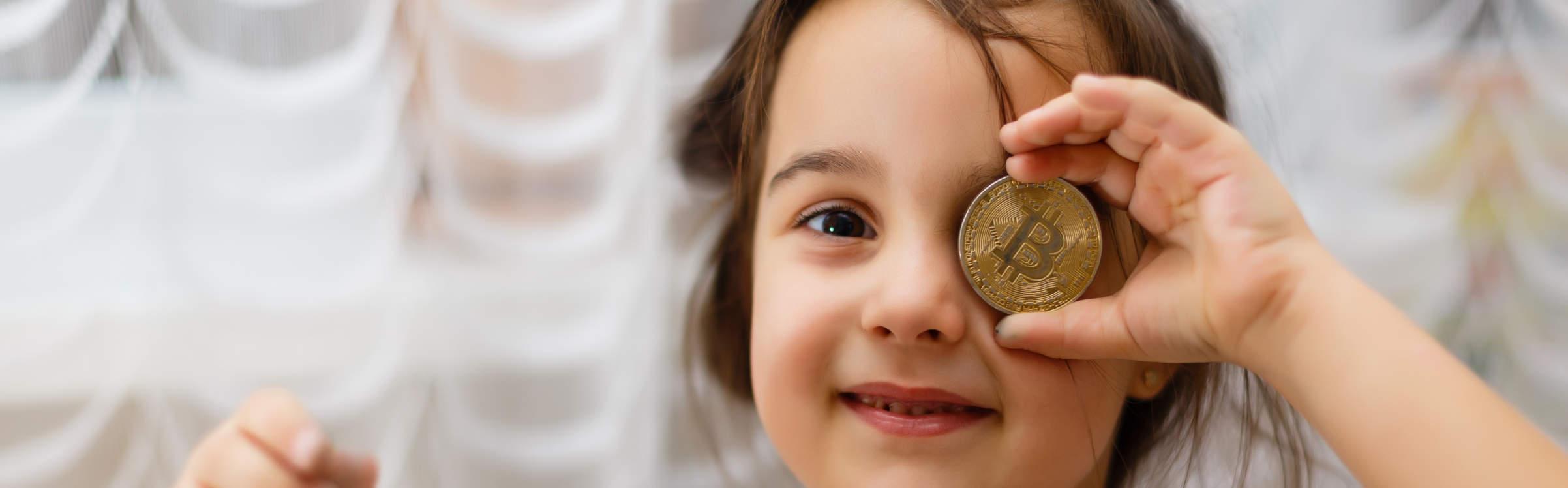 criança bitcoin