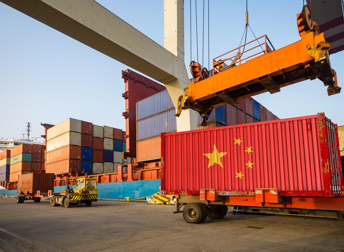 China registra crescimento econômico mais lento desde 1990