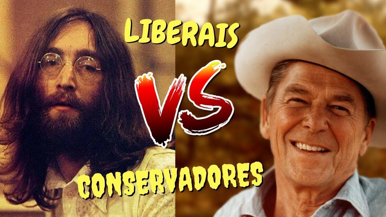 liberal x conservador