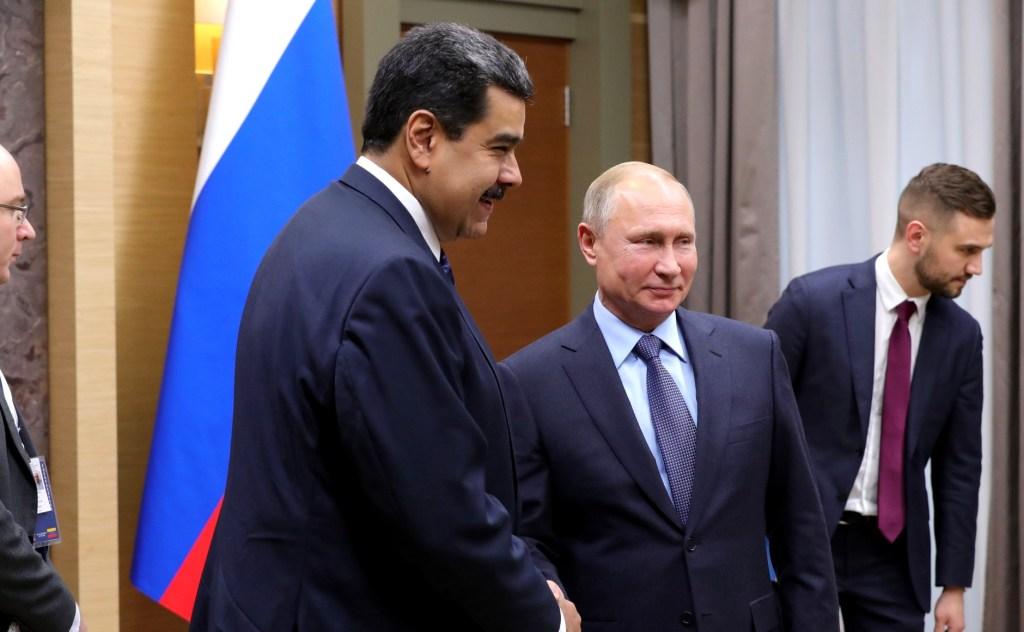 Putin com Maduro