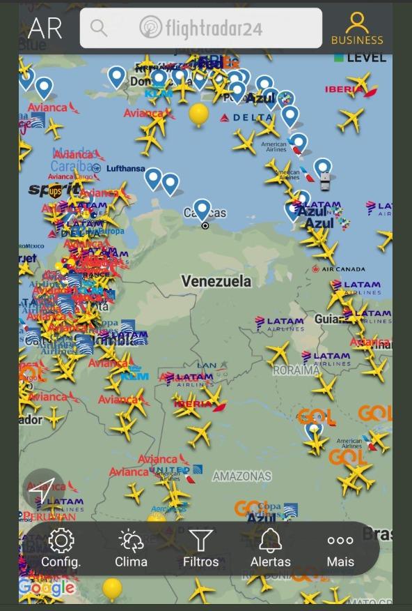 venezuela posiciona mísseis