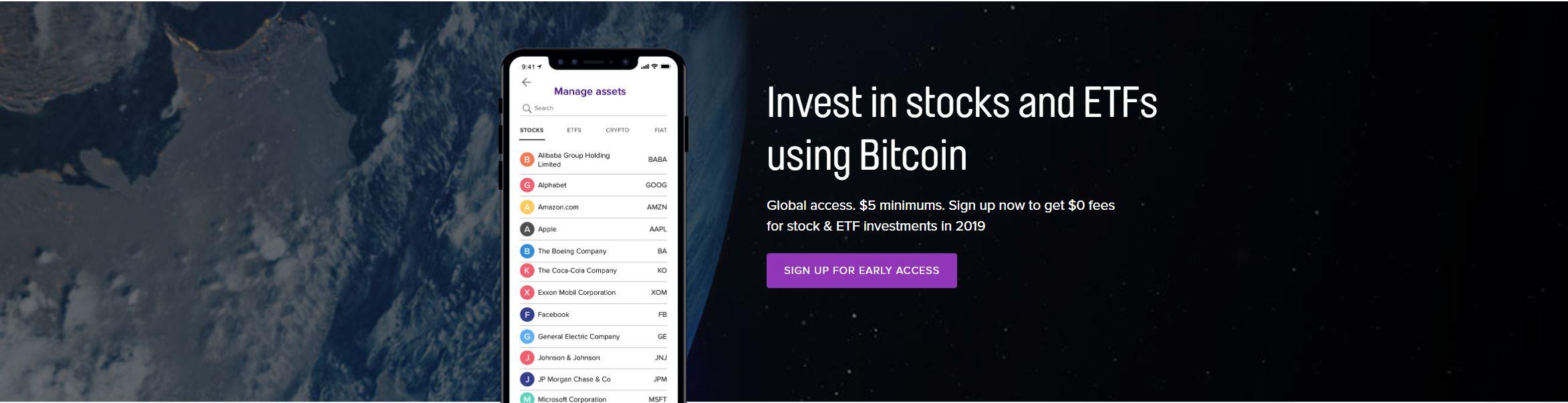 Que tal negociar ações da Apple com bitcoin? Confira essa novidade
