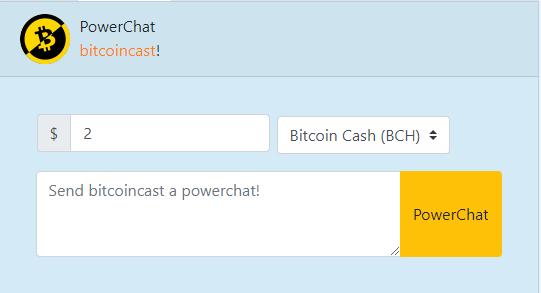 PowerChat Bitbacker