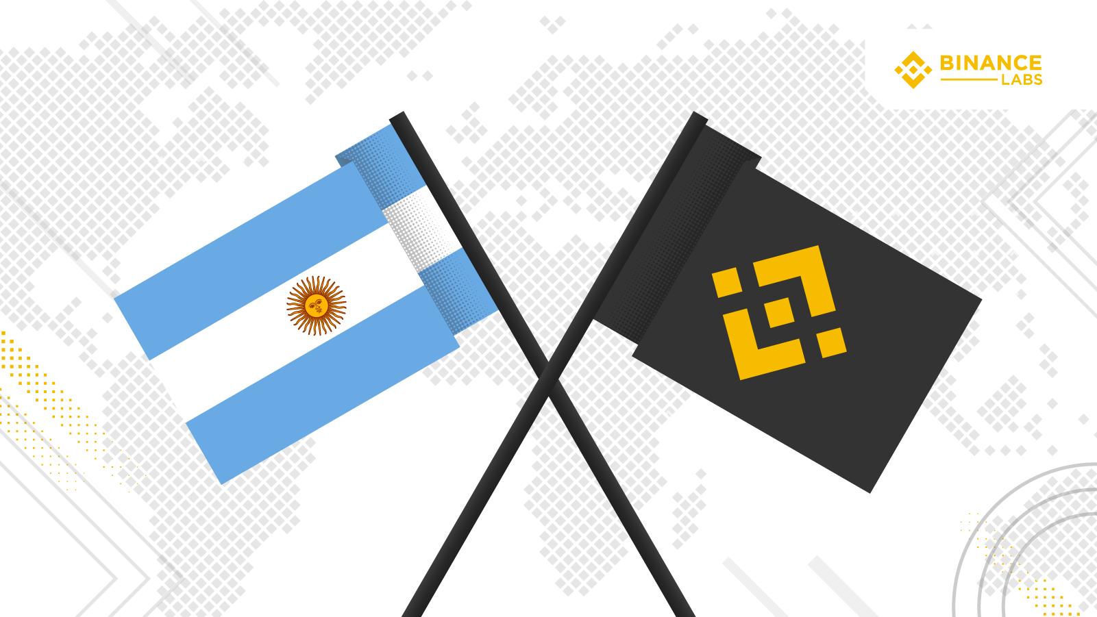 Binance e Argentina fazem parceria para financiamento de projetos que usam blockchain