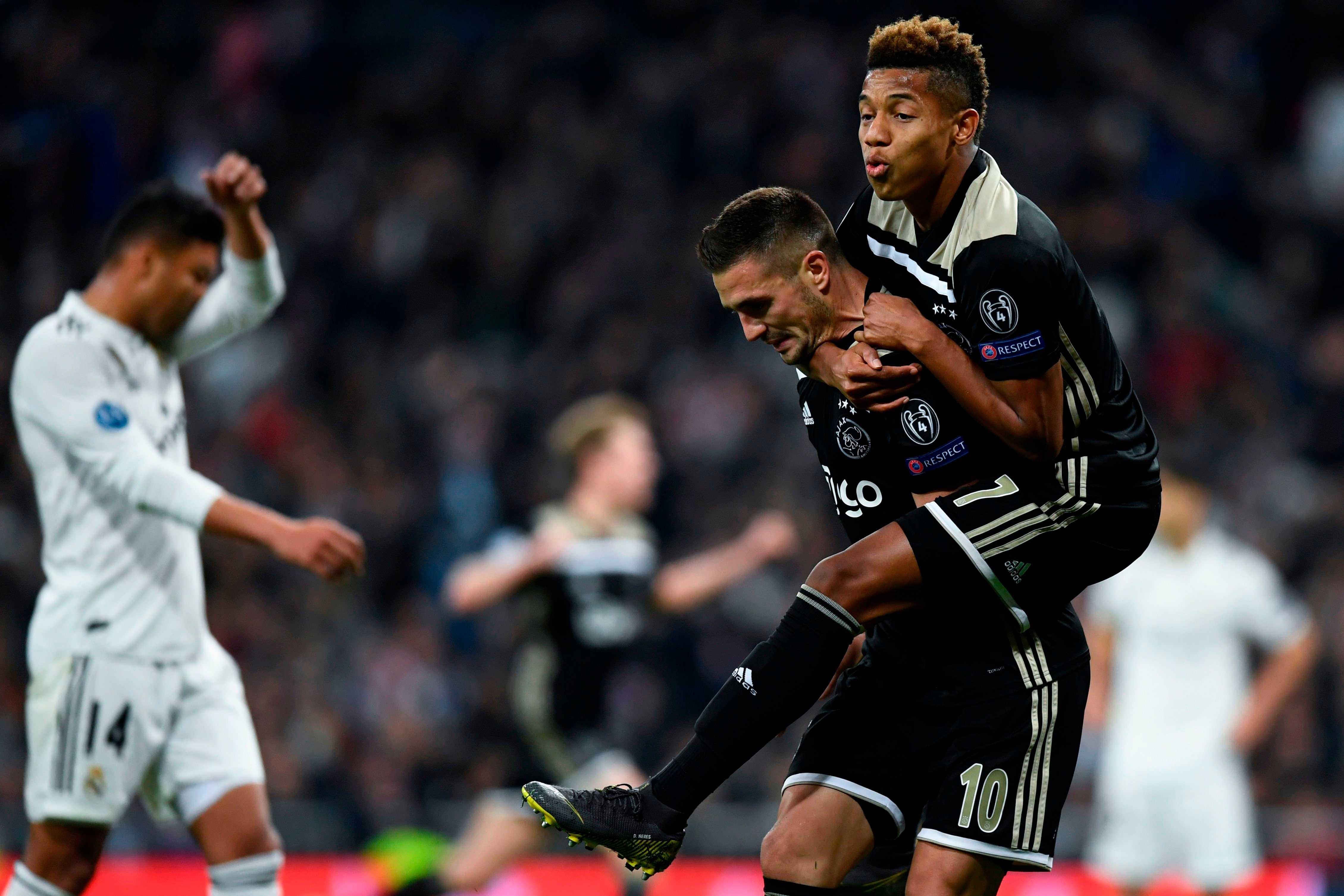 Ações do Ajax batem recorde na bolsa após eliminação do Real Madrid
