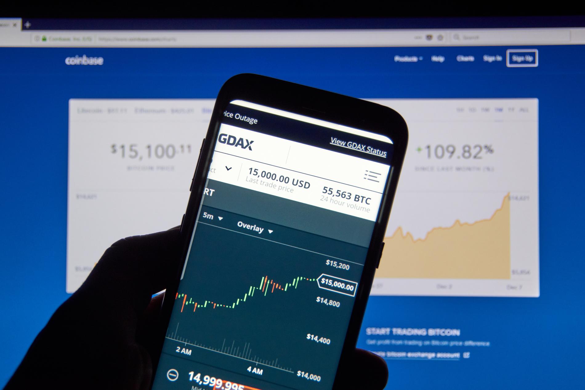 Coinbase, Kraken e Mercado Bitcoin saem do ar enquanto BTC atinge ATH