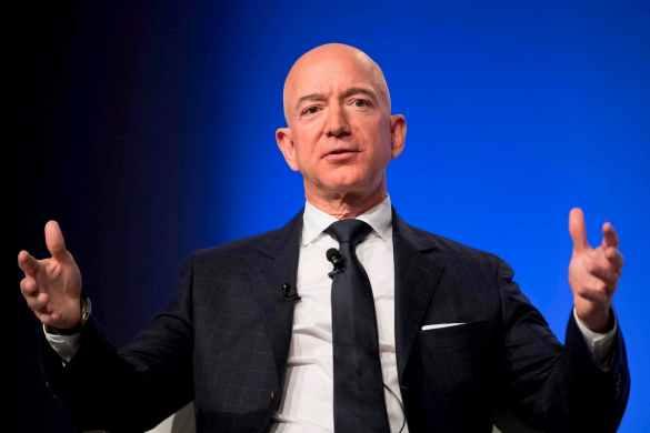 Jeff Bezos bilionários