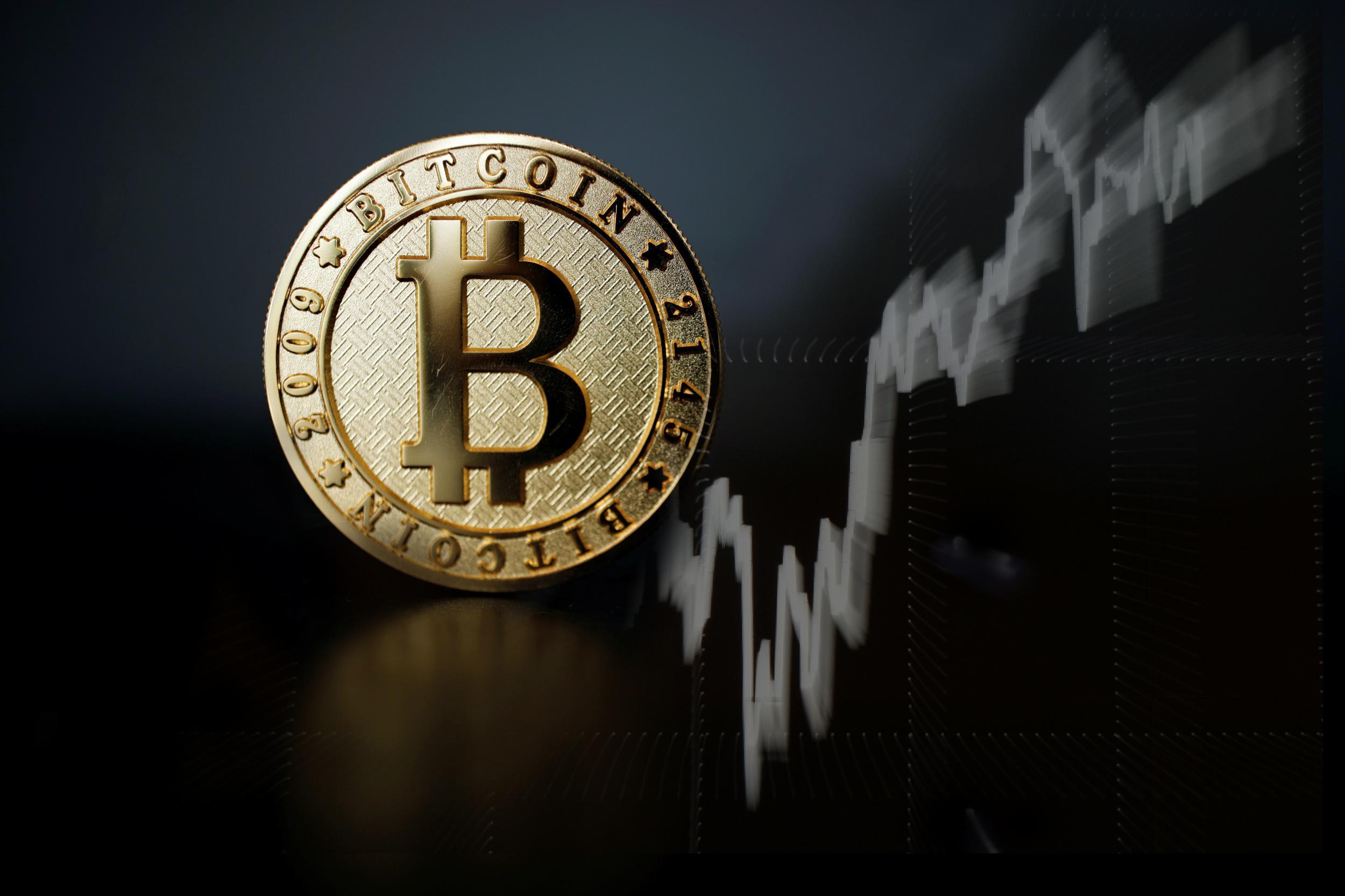 bitcoin subindo