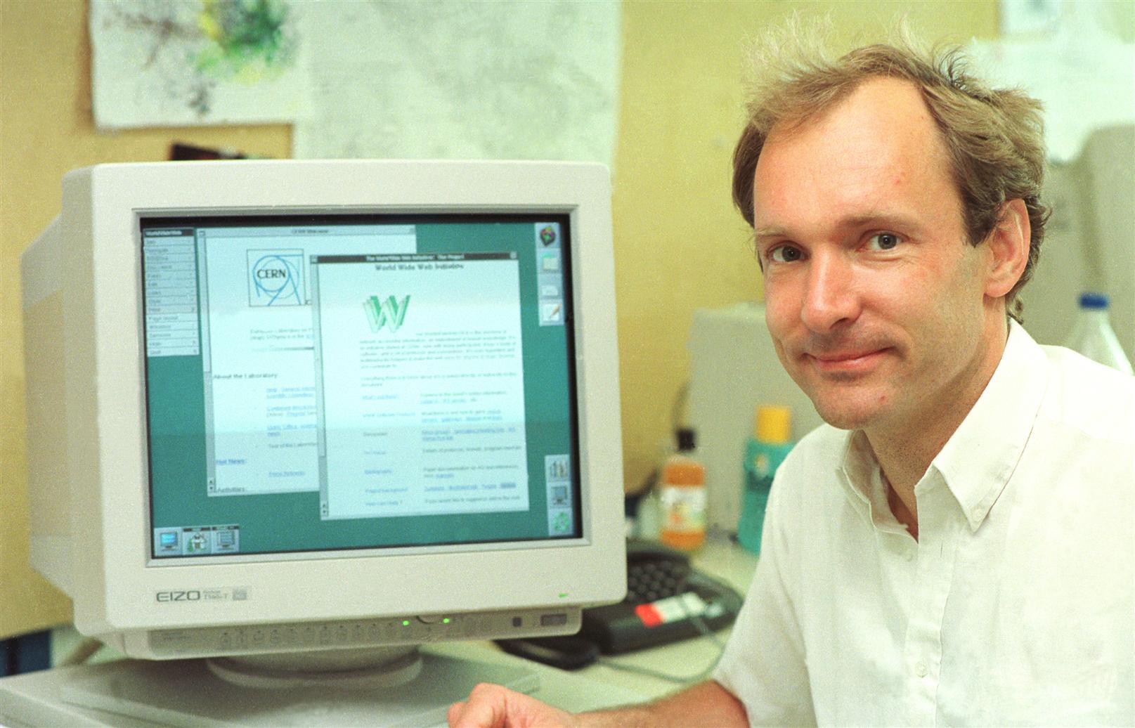 Tim Berners-Lee,criador da Web quer descentralizá-la