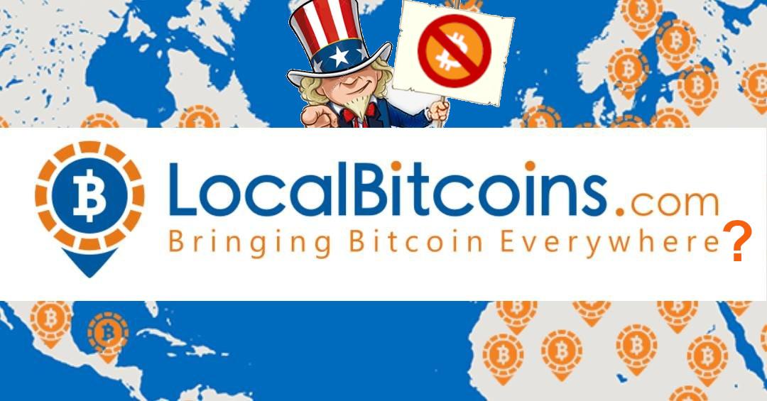 LocalBitcoins começa a restringir usuários e seguir sanções dos EUA
