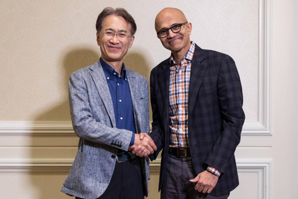 Sony e a Microsoft anunciam parceria para games e serviços de nuvem