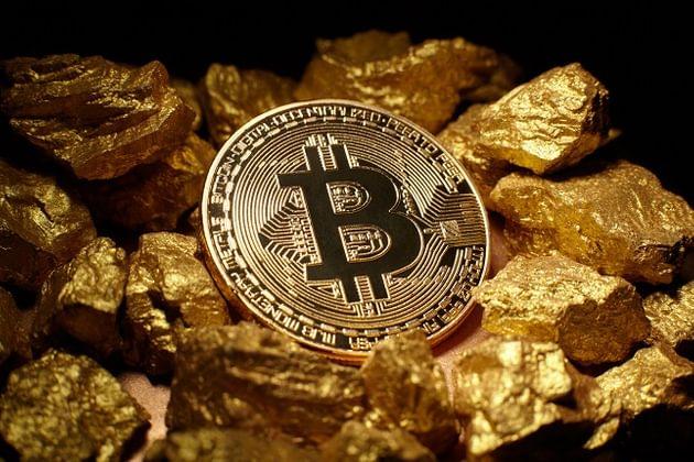 bitcoin e ouro, preços