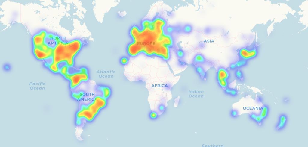 coinmap mapa de aceitação do bitcoin