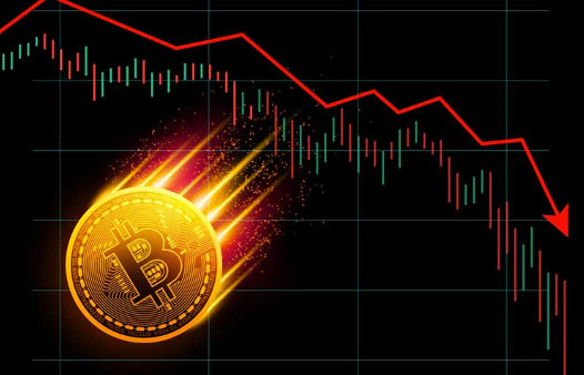Preço do Bitcoin Colapsa