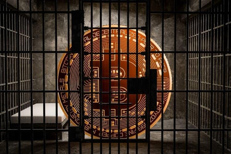 Proibição do bitcoin cadeia