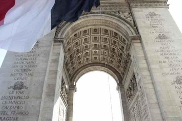 França arco do triunfo