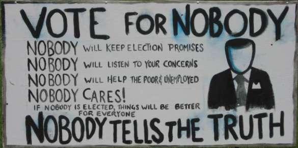 Ninguém quer ser prefeito