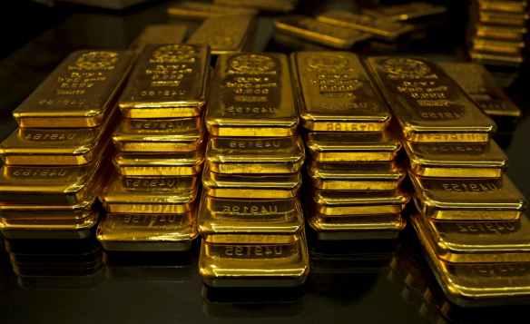 ouro reservas
