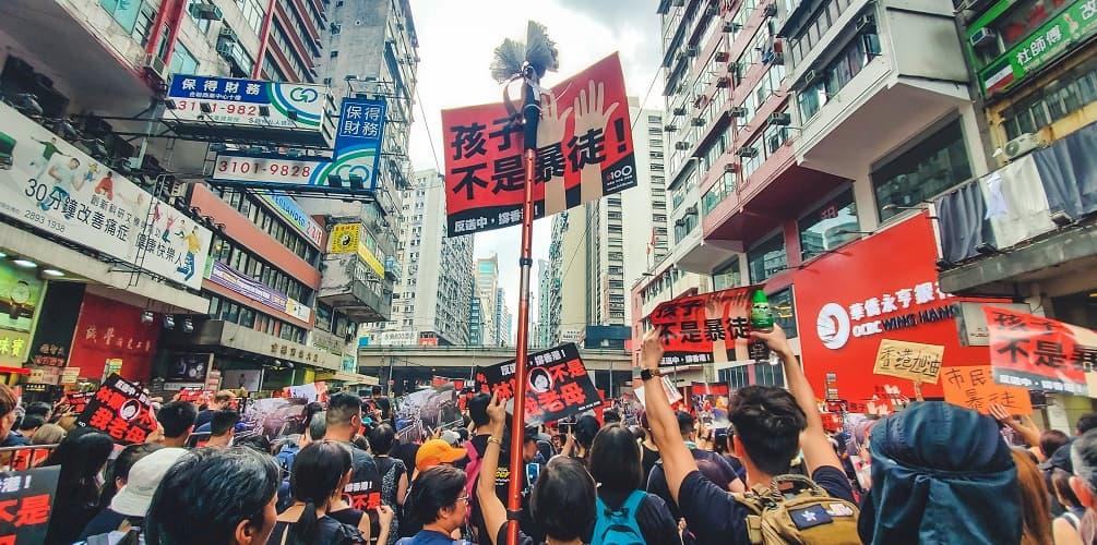 HSBC fecha conta usada para apoiar manifestantes em Hong Kong