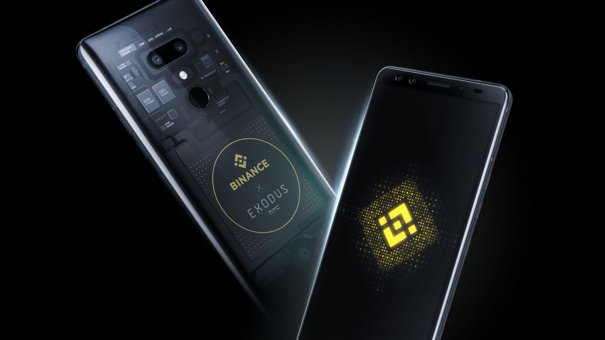 Binance e HTC lançam smartphones que suportam a Binance Chain