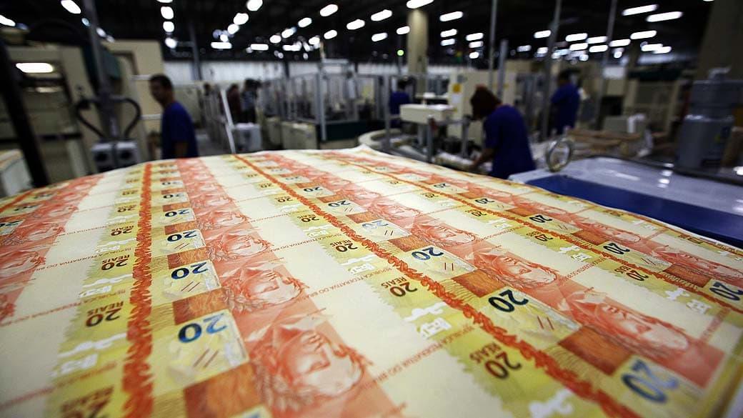 Banco Central manda imprimir R$437 milhões por falta de dinheiro