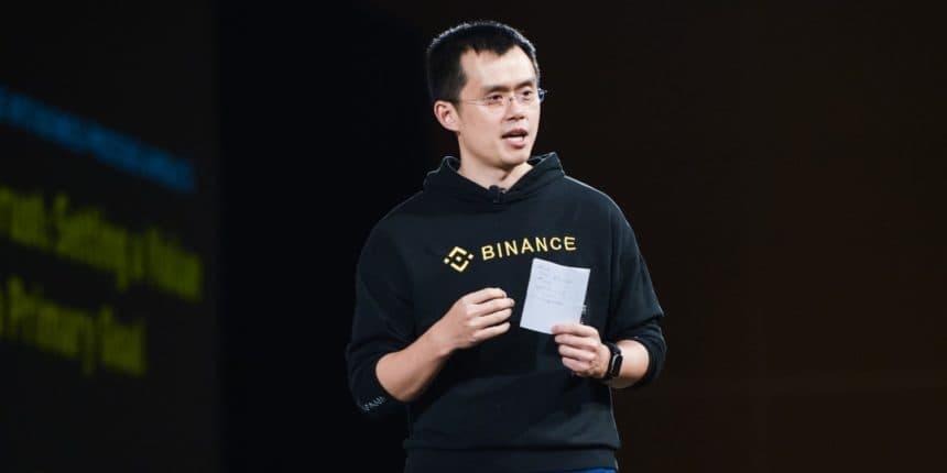 Criptomoedas estão seguras na exchange, diz CEO da Binance