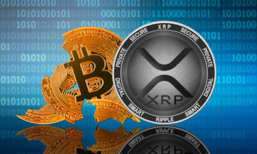 volume de transações diárias de XRP ultrapassa BTC