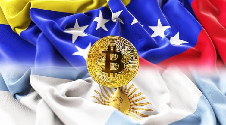 Volume de negociações P2P de Bitcoin atingem recorde histórico na Venezuela e Argentina