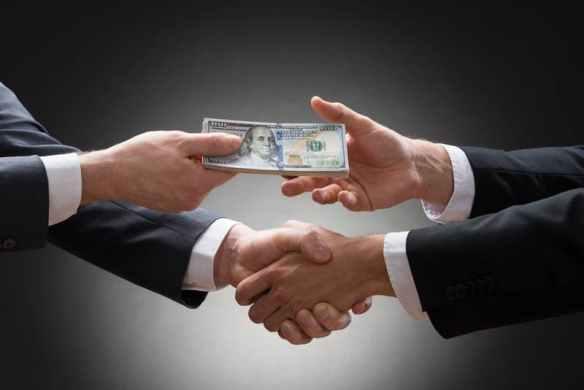 Dinheiro e aperto de mão para listar HEX?