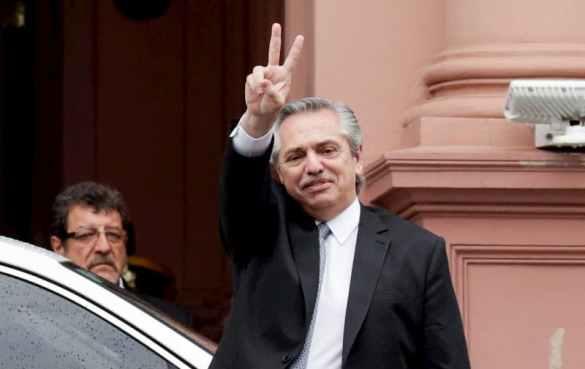 novo presidente da Argentina Fernandéz