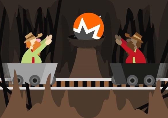 mineração monero xmr