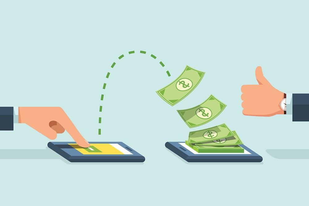 Como funciona uma transferência bancária?