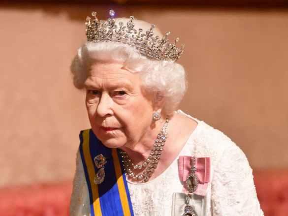 Rainha do Reino Unido HMR