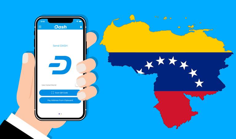 Carteiras ativas de Dash aumentaram em 562% desde maio na Venezuela