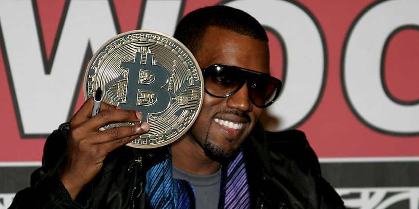 Bitcoin é a libertação da humanidade, afirma Kanye West