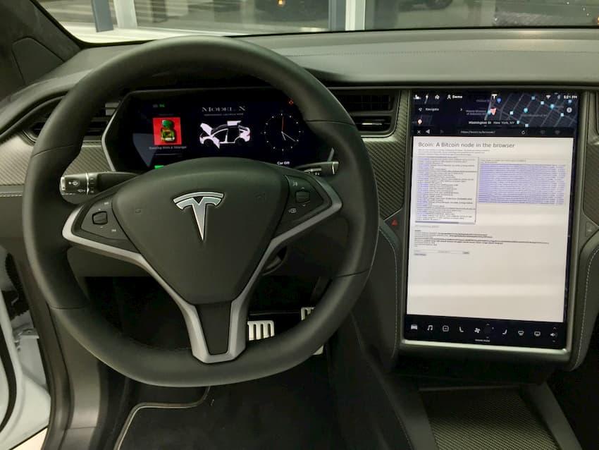 Rodando um Full Node de Bitcoin em um Tesla