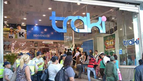 Loja Traki na venezuela